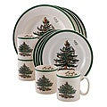 Spode Christmas Tree 12-piece Dinnerware Set