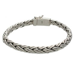 Sterling Silver 'Connected Lives' Bracelet (Indonesia)