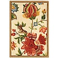 Safavieh Hand-hooked Transitional Ivory Wool Rug (1'8 x 2'6)