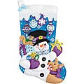 Frosty Stocking Felt Applique Kit