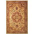 Safavieh Handmade Classic Heriz Gold/ Red Wool Rug (5' x 8')
