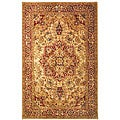 Handmade Classic Heriz Gold/ Red Wool Rug (8&#39;3 x 11)