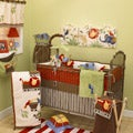 Cotton Tale Animal Tracks 4-piece Crib Bedding Set
