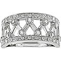14k Gold 5/8ct TDW Diamond Openwork Design Ring (I-J, I1-I2)