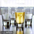 Custom Engraved Glass Pint Tumblers (Set of 4)