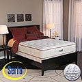 Serta Alleene Plush California King-size Mattress and Box Spring Set