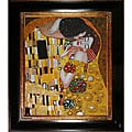 Gustav Klimt 'The Kiss' Oil Painting