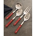 Le Prix Red 4-piece Hostess Set