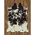 Cowhide Design Rug (5&#39; x 7&#39;)