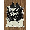 Cow Hide Polyproplene Rug (5' x 7')