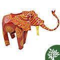Painted Tin Elephant (Zimbabwe)