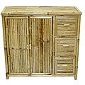 Handcrafted Bamboo 3-drawer Chest (Vietnam)