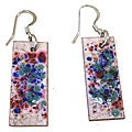 Confetti Rectangular Earrings (Chile)