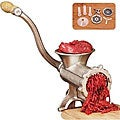 Deluxe Heavy-duty Number 10 Manual Tinned Meat Grinder