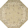 Gold Wool Rug (7'10 Octagon)