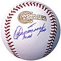 Orlando Hernandez Signed 2005 World Series Baseball
