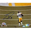 Willie Parker Super Bowl XL TD Run Autographed 8x10 Photograph