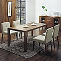 Glen Cream Fabric Dining C