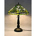 Tiffany-style Tulip Table Lamp