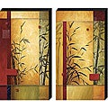 Garden Dance by Don Li-Leger Canvas Giclee Set