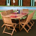 Barcelona 9-piece Teak Dining Set