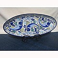 Aqua Fish Extra Large Oval Platter (Tunisia)