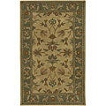 Hand-tufted Alexander New Zealand Wool Rug (5' x 8')