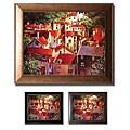 Michael O'Toole 'Rooftops II' Framed Canvas Art