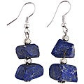 Silver and Lapis Lazuli Earrings (Thailand)