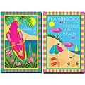 Grace Riley 'Tropical Beach' 2-piece Canvas Art Set