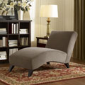 Bella Taupe/Camel Chaise