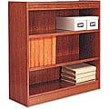 Alera Wood Veneer 3-shelf Square Corner Bookcase
