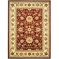 Safavieh Lyndhurst Collection Majestic Red/ Ivory Rug (5'3 x 7'6)