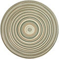 Watch Hill Sage Braided Rug (8&#39; Round)