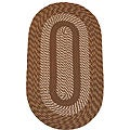 Middletown Brown Braided Rug (2' x 6')