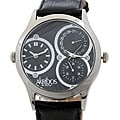 Akribos XXIV 'Quasar' Men's Dual Time Quartz Watch