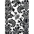 Hand-Tufted 'Floridly' Black Floral Wool Rug (5' x 8')