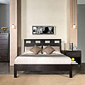 Rectangular Cutout Twin-size Platform Bed
