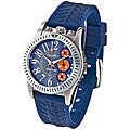 Haurex Italy 'Promise' Chronograph Blue Rubber Strap Watch