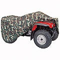 Coverite Large Camouflage ATV Cover with Bonus Storage Bag
