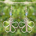 Butterfly Electroplated Earrings (Kenya)
