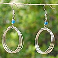 Loops Electroplated Earrings (Kenya)