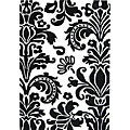 Hand-tufted Flordely Black Wool Rug (4 x 6)
