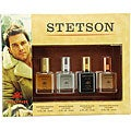 Stetson Men's 4-piece Fragrance Set