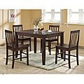 Brown 5-piece Wood Dining Set