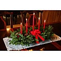 Classic 5-candle Fresh-cut Balsam Centerpiece
