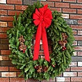 Classic Fresh-cut Maine Balsam 36-inch Wreath
