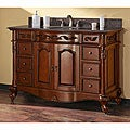 Avanity Provence 48-inch Single Vanity in Antique Cherry Finish with Sink and Top