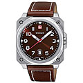 Wenger Men's Swiss Military AeroGraph Cockpit Watch in Brown