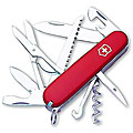 Swiss Army Huntsman 16-tool Red Pocket Knife